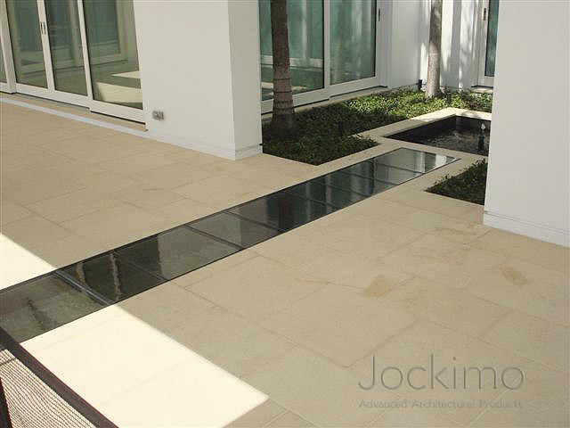 Private Residence Cast Glass Glass Flooring Antique