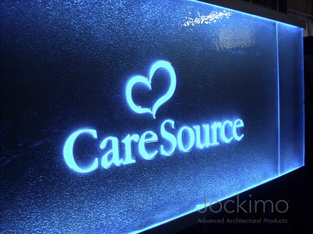 Caresource Castglasslogo Cast Glass Glass Flooring
