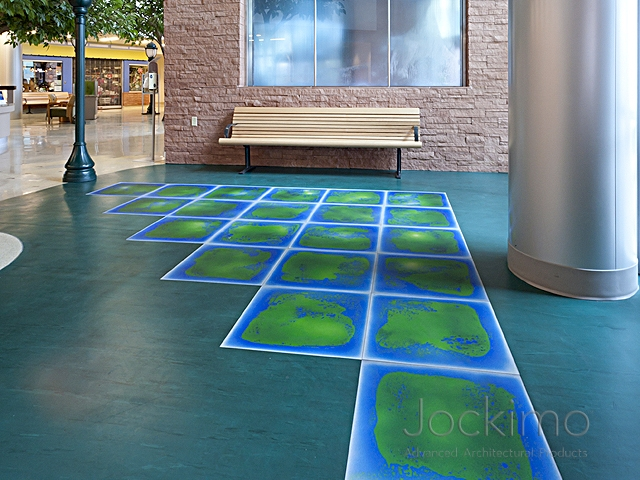 Banner HealthCare Hospital - Cast Glass, Glass Flooring, Antique ...