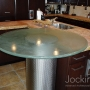 thick glass counter top