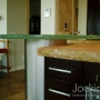 thick glass bar top