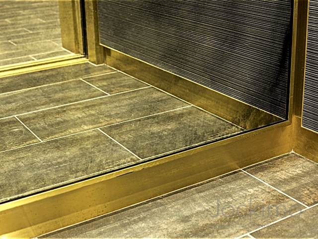 Troy at ink block cast glass glass flooring antique for Elevator flooring options