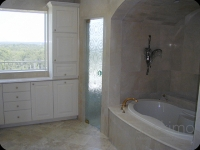 Cast Glass Shower