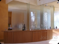 Cast Glass Wall