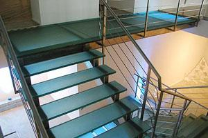 Jockimo Glass Stair Treads